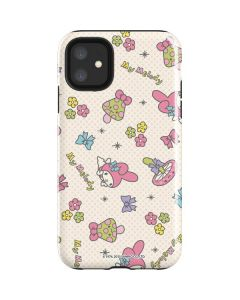 My Melody Pattern iPhone 11 Impact Case