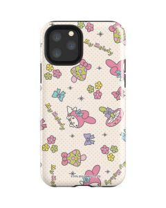 My Melody Pattern iPhone 11 Pro Impact Case