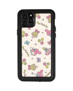 My Melody Pattern iPhone 11 Pro Max Waterproof Case