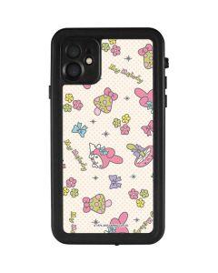 My Melody Pattern iPhone 11 Waterproof Case