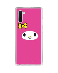 My Melody Up Close Galaxy Note 10 Clear Case