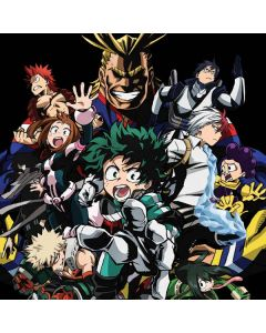 My Hero Academia Main Poster Generic Laptop Skin