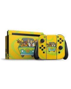 Mystery Machine Van Nintendo Switch Bundle Skin