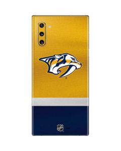 Nashville Predators Alternate Jersey Galaxy Note 10 Skin