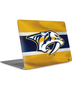 Nashville Predators Alternate Jersey Apple MacBook Air Skin