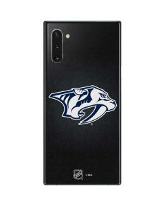 Nashville Predators Black Background Galaxy Note 10 Skin