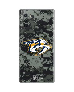 Nashville Predators Camo Galaxy Note 10 Skin