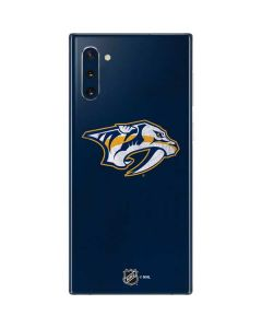 Nashville Predators Distressed Galaxy Note 10 Skin