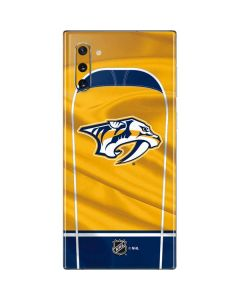 Nashville Predators Jersey Galaxy Note 10 Skin