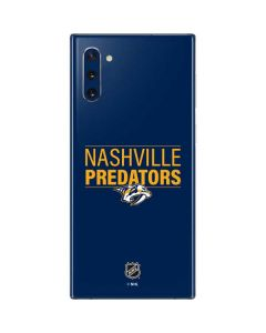 Nashville Predators Lineup Galaxy Note 10 Skin