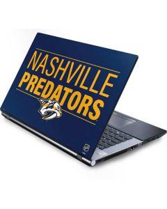 Nashville Predators Lineup Generic Laptop Skin