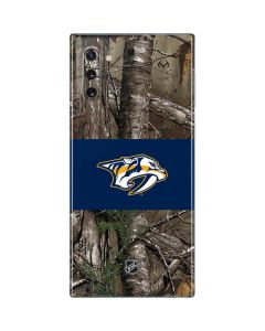 Nashville Predators Realtree Xtra Camo Galaxy Note 10 Skin