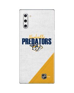 Nashville Predators Script Galaxy Note 10 Skin