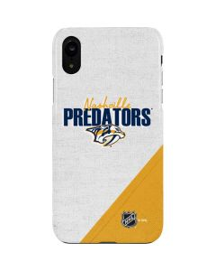 Nashville Predators Script iPhone XR Lite Case