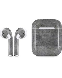 Natural Grey Concrete Apple AirPods Skin