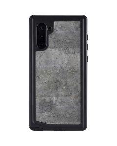 Natural Grey Concrete Galaxy Note 10 Waterproof Case