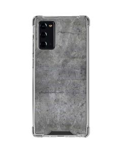 Natural Grey Concrete Galaxy Note20 5G Clear Case
