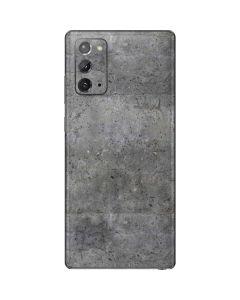 Natural Grey Concrete Galaxy Note20 5G Skin