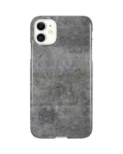 Natural Grey Concrete iPhone 11 Lite Case