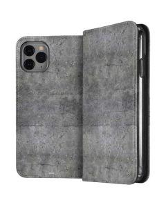 Natural Grey Concrete iPhone 11 Pro Folio Case