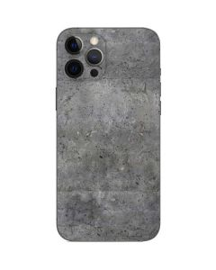 Natural Grey Concrete iPhone 12 Pro Skin