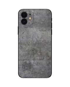 Natural Grey Concrete iPhone 12 Skin