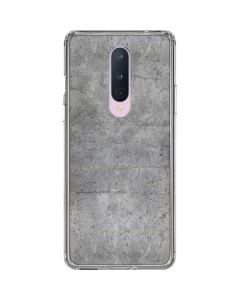 Natural Grey Concrete OnePlus 8 Clear Case