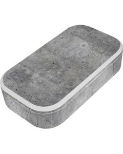 Natural Grey Concrete UV Phone Sanitizer and Wireless Charger Skin