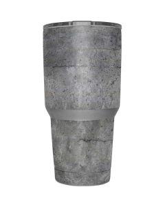 Natural Grey Concrete Yeti 30oz Rambler Tumbler Skin