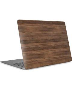 Natural Walnut Wood Apple MacBook Air Skin