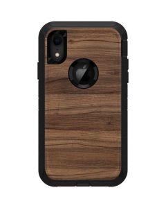 Natural Walnut Wood Otterbox Defender iPhone Skin