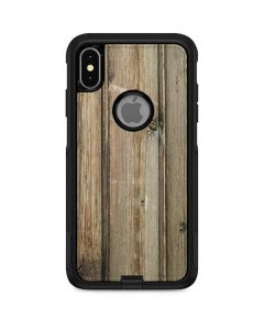 Natural Weathered Wood Otterbox Commuter iPhone Skin