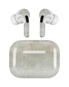 Natural White Concrete Apple AirPods Pro Skin