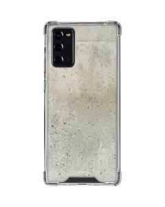 Natural White Concrete Galaxy Note20 5G Clear Case