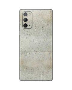 Natural White Concrete Galaxy Note20 5G Skin