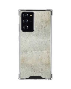 Natural White Concrete Galaxy Note20 Ultra 5G Clear Case