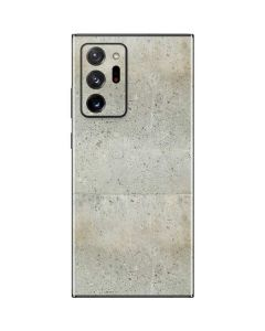 Natural White Concrete Galaxy Note20 Ultra 5G Skin