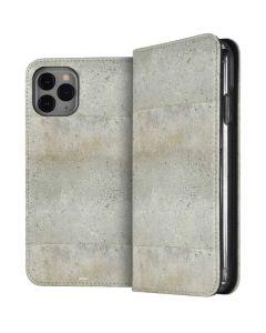 Natural White Concrete iPhone 11 Pro Folio Case