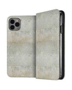 Natural White Concrete iPhone 11 Pro Max Folio Case