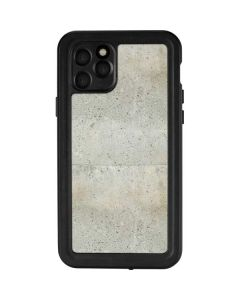 Natural White Concrete iPhone 11 Pro Waterproof Case