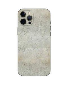 Natural White Concrete iPhone 12 Pro Max Skin