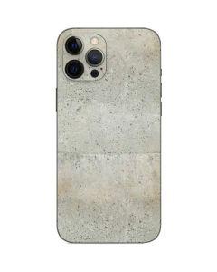 Natural White Concrete iPhone 12 Pro Skin
