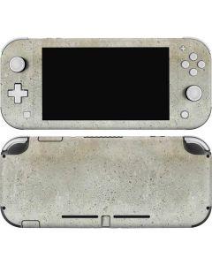 Natural White Concrete Nintendo Switch Lite Skin