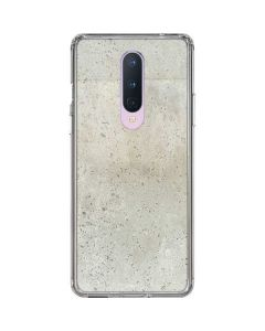 Natural White Concrete OnePlus 8 Clear Case