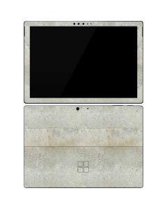 Natural White Concrete Surface Pro 7 Skin