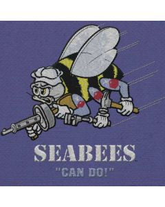 Seabees Can Do HP Notebook Skin