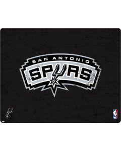 San Antonio Spurs Distressed Surface Laptop Skin