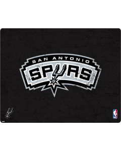 San Antonio Spurs Distressed Apple MacBook Pro 17-inch Skin