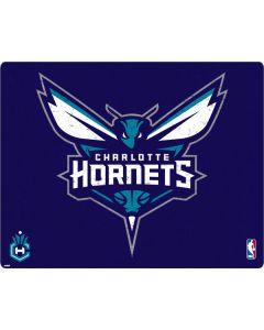 Charlotte Hornets Distressed-Purple Apple MacBook Pro 17-inch Skin