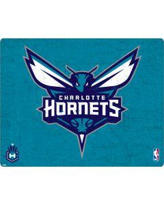 Charlotte Hornets Distressed-Aqua Apple MacBook Pro 17-inch Skin